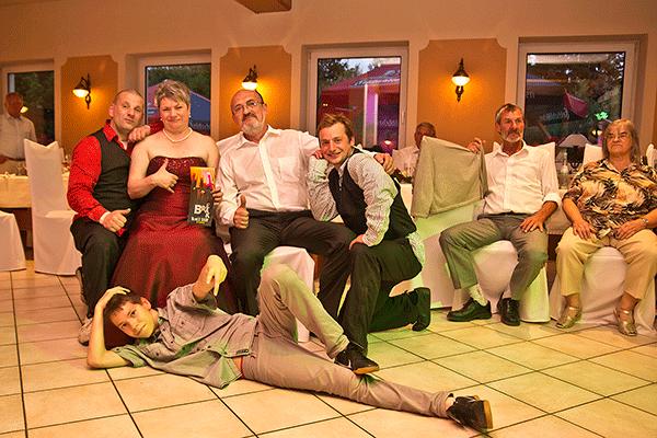 Break Dance Show zur Hochzeit