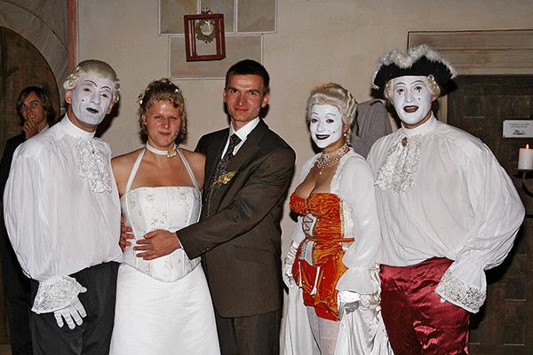 Hochzeitsshow auf Schloss Scharfenberg