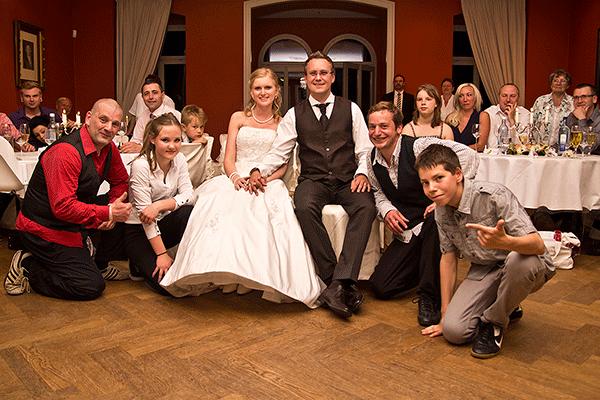 Stilvolles Ambiente zur Hochzeit