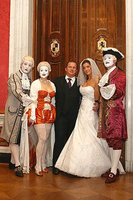 Deutsch-Russische Hochzeit