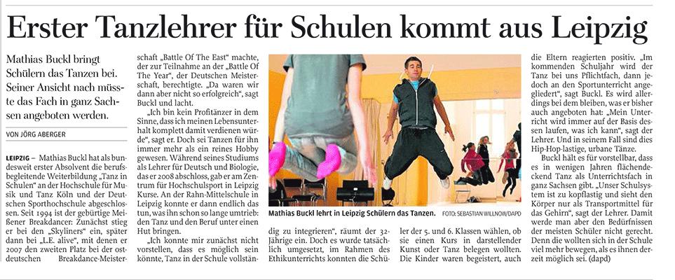 Skyliner - 1. Tanzlehrer für Schulen