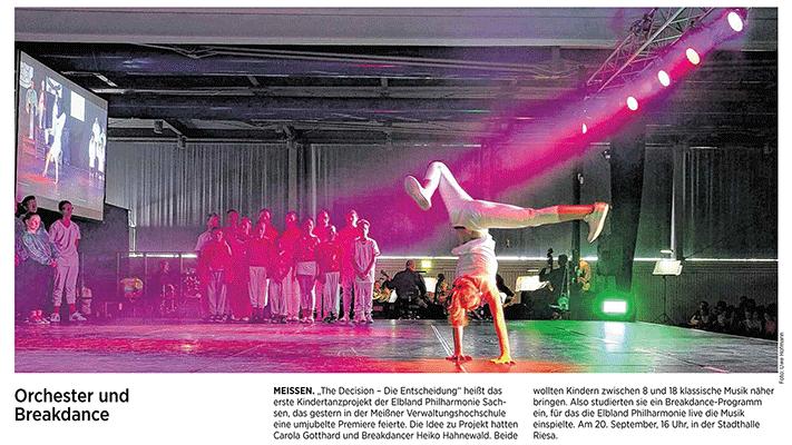 Break Dance meets Classic Report