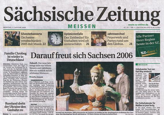Skyliners @ Titelbild Sächsiche Zeitung