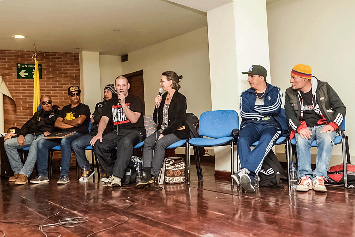 Skyliner - Zeitzeuge in Bogotá 2014