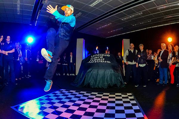 Skyliners @ BMW Mini Präsentation 2014