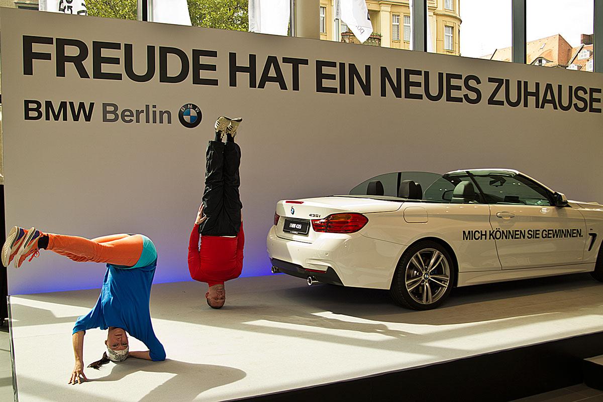 Skyliners @ Berlin Dekra Präsentation 2014